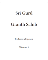 SGGS in Spanish Volume 1
