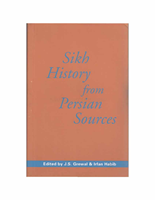 Sikh History from Persian Sources
