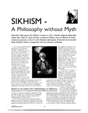 Sikhism: A Philosophy Without Myth