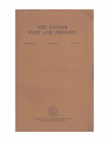 The Punjab Past and Present