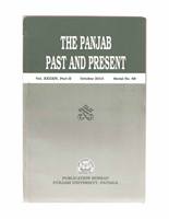 The Punjab Past and Present Vol XXXXIV Part II