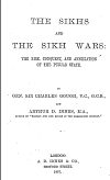 The Sikhs And The Sikh Wars By Gough & Sir Charles