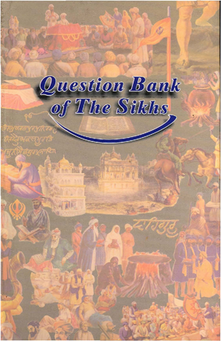 Question Bank The Sikhs
