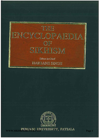 The Encyclopaedia of Sikhism Vol I