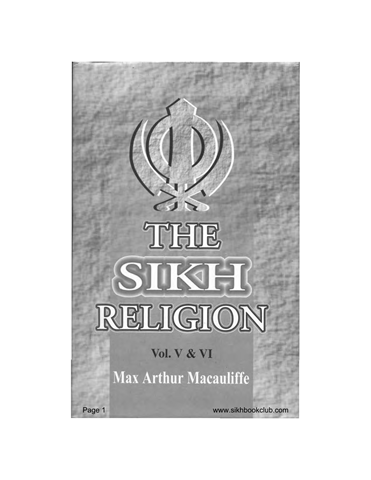The Sikh Religion Part 5 and 6